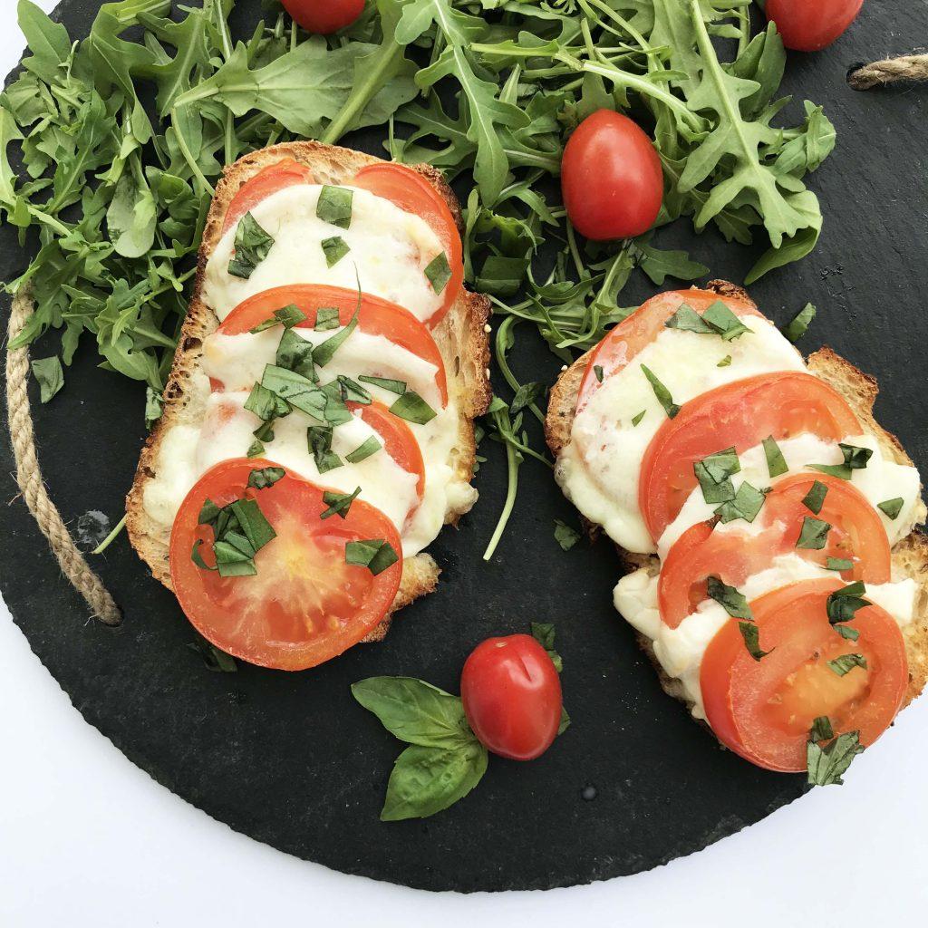 bruschetta à la tomate - cuisine express